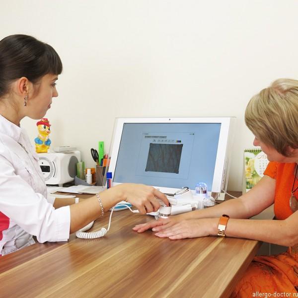 Диагностика кожи, дерматоскопия, дерматоскоп