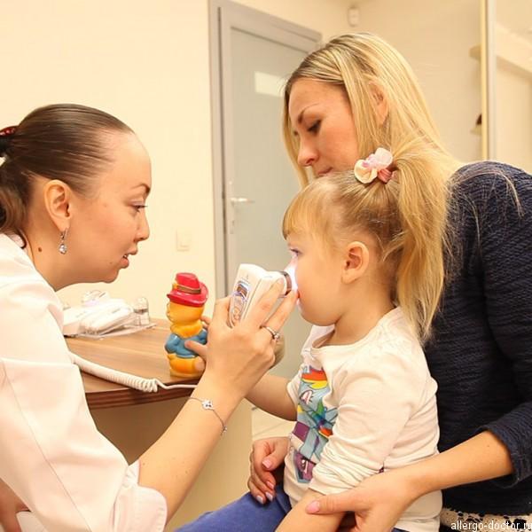 Детский дерматолог, детский дерматолог-аллерголог, диагностика кожи на приеме