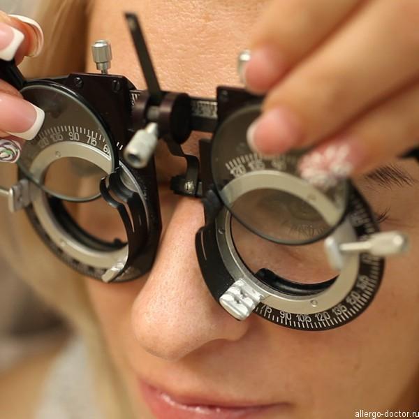 Визометрия, проверка остроты зрения